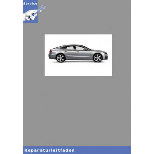 Audi A5 8T (07>) 6 Gang-Schaltgetriebe 0B2 - Reparaturleitfaden