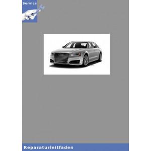 Audi A8  Instandsetzung TDI CR Reparaturanleitung