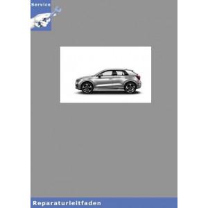 Audi Q2 Karosserie Montagearbeiten außen - Reparaturanleitung
