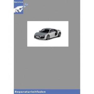 Audi R8 42 (07-12) Karosserie-Montagearbeiten Außen - Reparaturleitfaden