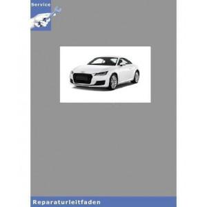 Audi TT 8N (98-06) 6 Gang Schaltgetriebe 02M Frontantrieb - Reparaturleitfaden
