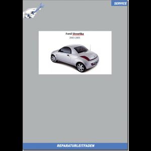 Ford Streetka Werkstatthandbuch Fahrwerk