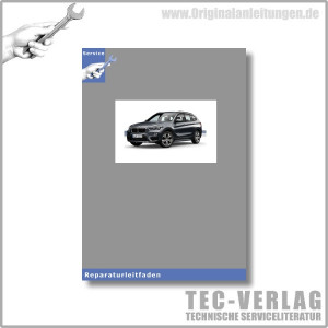 BMW X1 E84 (08-15) Karosserie Aussen - Werkstatthandbuch