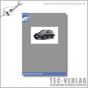BMW X1 Werkstatthandbuch 2,0 L Motor N47 Motor Motorelektrik
