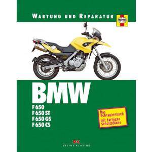 BMW F650 / F650ST / F650GS / F650CS Reparaturanleitung Schrauberbuch