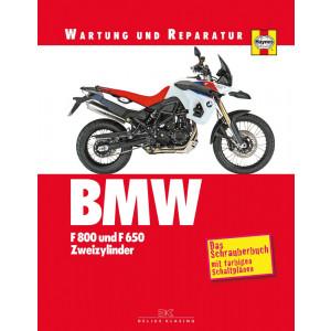 BMW F 650 / F 800 R / ST / GS Reparaturanleitung Schrauberbuch