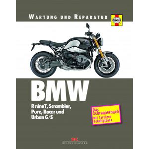 BMW R nineT / Scrambler / Pure / Racer / Urban Reparaturanleitung Schrauberbuch