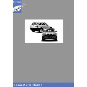 BMW X3 E83 (04-10) Karosserieinstandsetzung - Werkstatthandbuch