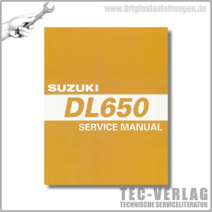 Suzuki DL 650 (05-11) - Service Manual