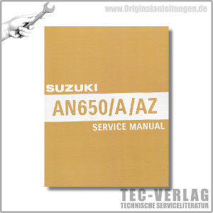 Suzuki AN650/A/AZ (04-12) - Service Manual