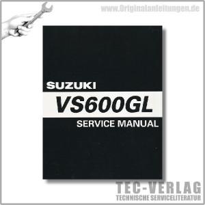 Suzuki VS 600 GL (96-97) - Service Manual