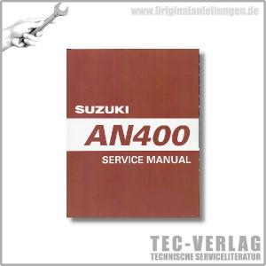 Suzuki AN400 (00-02) - Service Manual