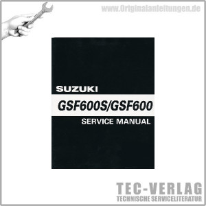 Suzuki GSF600/S - Service Manual