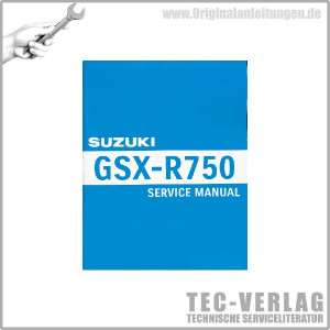 Suzuki GSX-R750 (08 - 10) - Service Manual