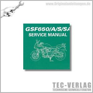 Suzuki GSF650/A/S/SA (09) - Wartungsanleitung - CD