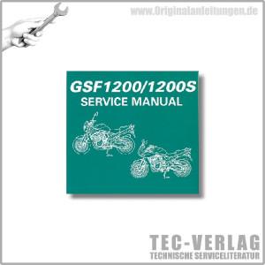 Suzuki GSF1200/1200S (05) - Wartungsanleitung - CD