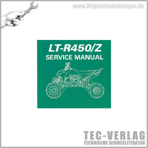 Suzuki LT-R450/Z (06-11) - Service Manual - CD