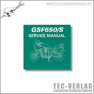 Suzuki GSF650/S (07) - Wartungsanleitung - CD