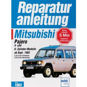 mitsubishi pajero reparaturanleitung und werkstatthandbuch. Black Bedroom Furniture Sets. Home Design Ideas