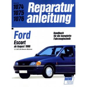 Ford Escort  1,1 / 1,4E / 1,6E Benziner (1990-1991) Reparaturanleitung