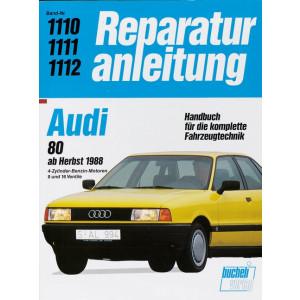 Audi 80 (88>) Benziner- Reparaturanleitung