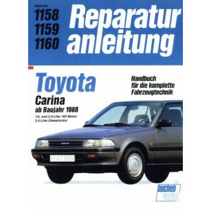 Toyota Carina II T17 (1988-1992) - Reparaturanleitung