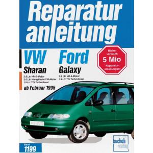 VW Sharan / Ford Galaxy (95>) - Reparaturanleitung