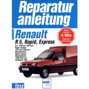 Renault R5   Rapid   Express (1991-1997) - Reparaturanleitung