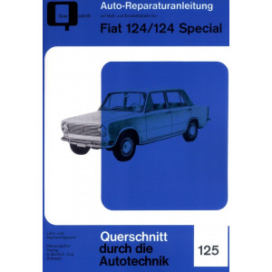 Fiat 124 / Fiat 124 Spezial (1966-1985) - Reparaturanleitung