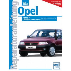 Opel Astra F  (91-98) 1.4 / 1.6 / 1.8 / 2.0 Liter- Reparaturanleitung
