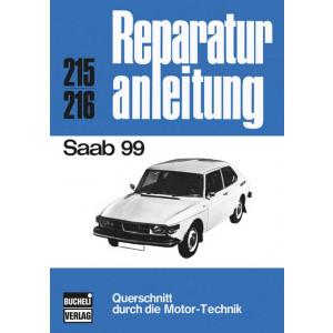 Saab 99 (1968-1974) - Reparaturanleitung Bucheli