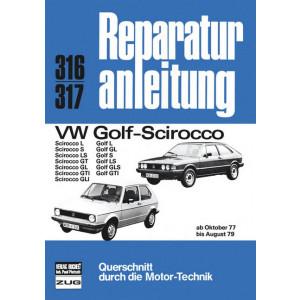 VW Golf / Scirocco (77-79) - Reparaturanleitung