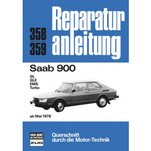 Saab 900 (78>) - Reparaturanleitung Bucheli