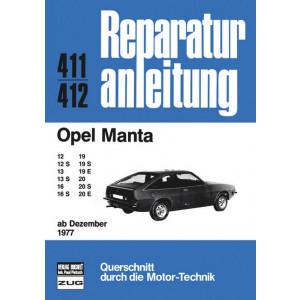Opel Manta B (77>) - Reparaturanleitung