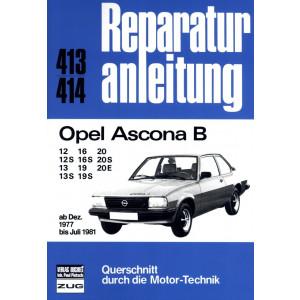 Opel Ascona B (1977-1981) -  Reparaturanleitung Bucheli