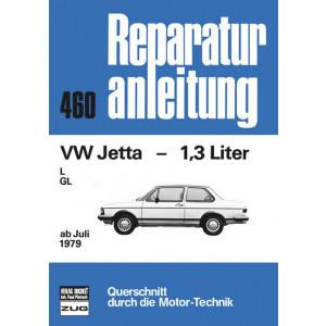 VW Jetta 1.3 l (79>) - Reparaturanleitung