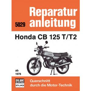 Honda CB 125 T/T2 (78>) - Reparaturanleitung