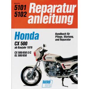 Honda CX 500 / CX 650 / GL 500 / GL 650 (78>) - Reparaturanleitung