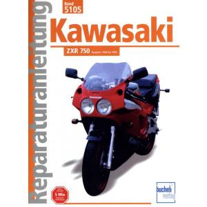Kawasaki ZXR 750 (88-90) - Reparaturanleitung