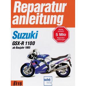 Suzuki GSX-R 1100 (85>) - Reparaturanleitung