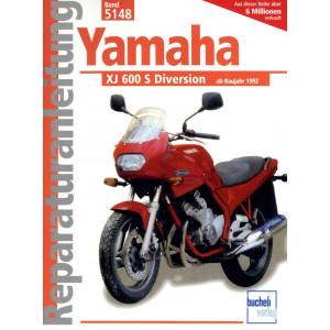 Yamaha XJ 600 S Diversion (1992-2003) - Reparaturanleitung
