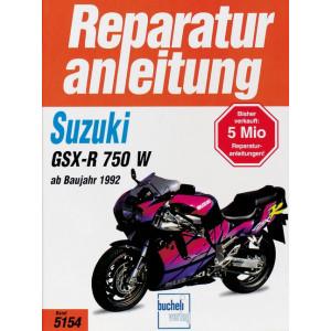 Suzuki GSX-R 750 W (92>) - Reparaturanleitung