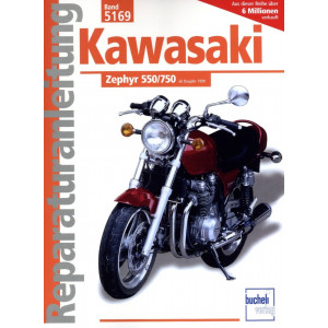 Kawasaki Zephyr 550 / 750 (1990-2000) - Reparaturanleitung
