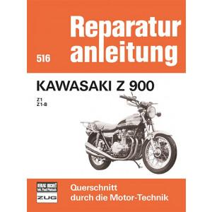 Kawasaki Z 900 Z1 / Z1B- Reparaturanleitung