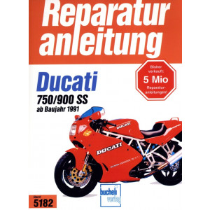 Ducati 750 SS / 900 SS (1991-1997) - Reparaturanleitung