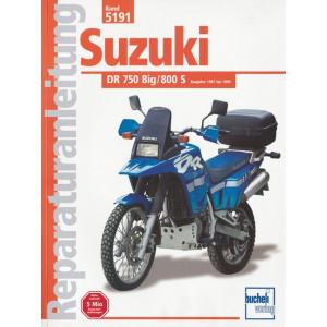 Suzuki DR 750 / 800 Big / 800S (87>) - Reparaturanleitung