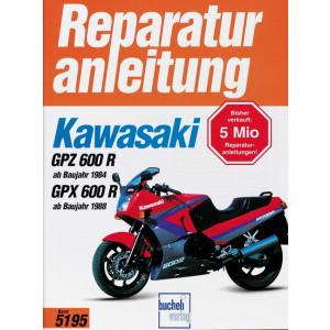 Kawasaki gpx 600 r reparaturanleitung