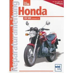 Honda CB 500  (94>) - Reparaturanleitung
