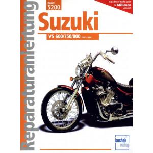 Suzuki VS 600 / 750/ 800 (1985-2000) - Reparaturanleitung