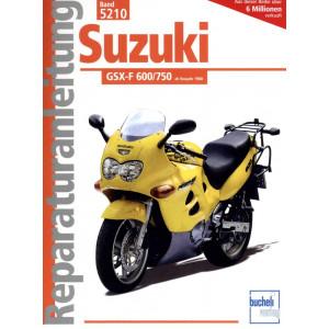 Suzuki GSX-F 600 / 750 (1988-1999) - Reparaturanleitung